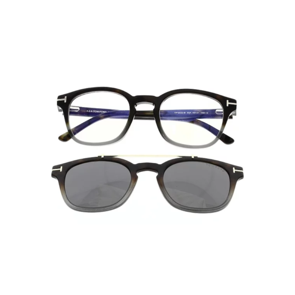 TOM FORD TF 5532B 55A – ÓCULOS DE GRAU E CLIP ON